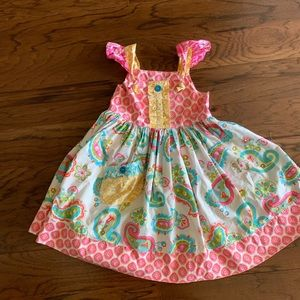 Eleanor Rose girls Sz 6-7 dress